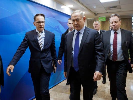 AP MIDEAST ISRAEL PALESTINIANS I