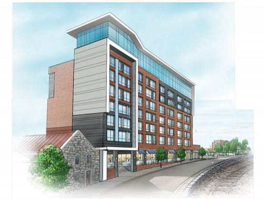 A rendering of The Complex at Port Chester