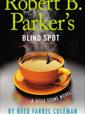 """Robert B. Parker's Blind Spot"" book cover by Reed Farrel Coleman."