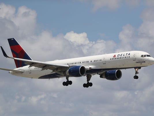 Delta Air Lines Flight