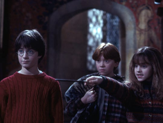 "A scene from ""Harry Potter and the Sorcerer's Stone"""