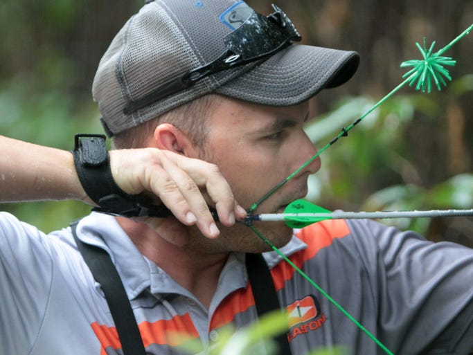 Bowmen from across the country compete in the Regions Archery 2014 National 3D Championship this weekend at the Ouachita Parish Rifle Range in West Monroe.