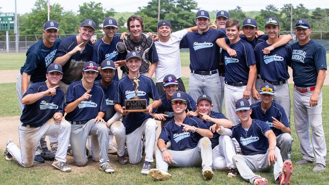 Shrewsbury players pose for a photo after beating Holden to win the PNJ Senior Babe Ruth Championship last season. The squad will be among the teams back in action as local summer baseball leagues open this week after a delay due to the COVID-19 pandemic.