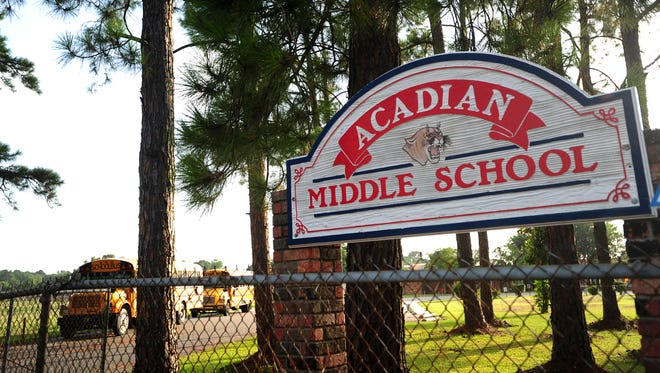 The district is searching for a new principal for Acadian Middle School.