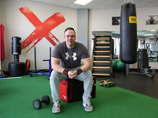 Trainer Joe DeMasi, owner of Express Train in Eastchester,