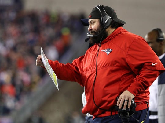 In Matt Patricia's defensive meetings with the Patriots, the floor is always open. Patricia never assumes he has all the answers and works collaboratively with his assistants to devise each week's game plan.