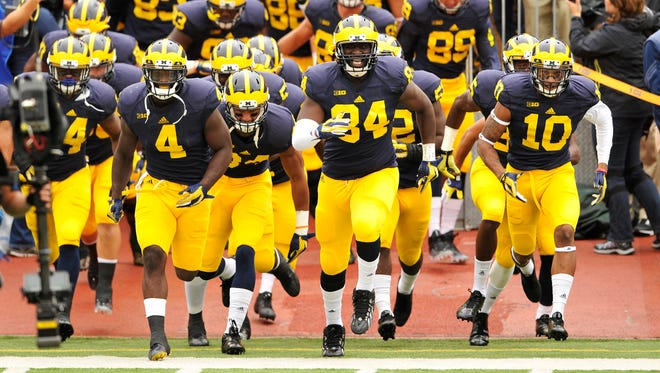 All Michigan sports teams will begin wearing Nike uniforms in the 2016-17 calendar.