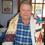 Nelson receives Quilt of Valor
