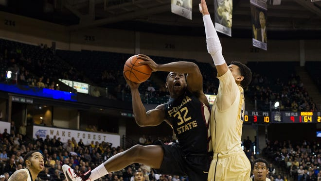 Montay Brandon helped FSU defeat Wake Forest.