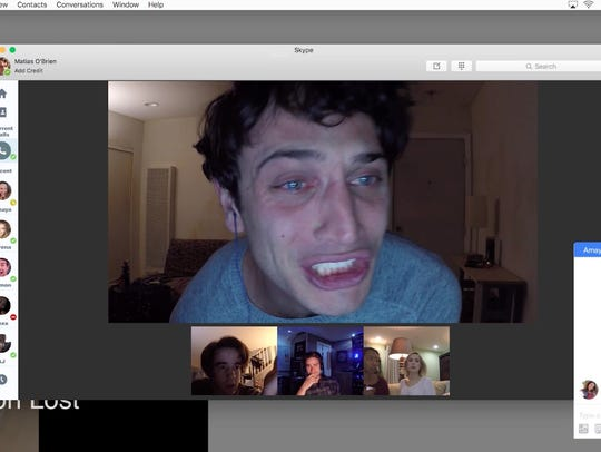 "Colin Woodell stars in ""Unfriended: Dark Web."" The"
