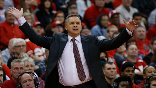 Ohio State men's basketball coach Chris Holtmann is entering his third season with the Buckeyes.