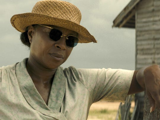 "Mary J. Blige plays Florence Jack­son in the drama ""Mudbound."""