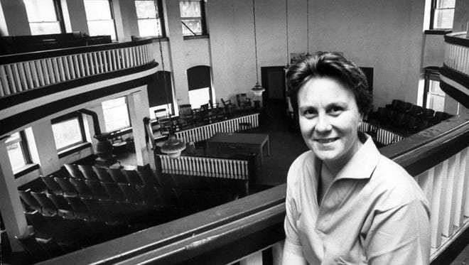 """Harper Lee not long after """"To Kill a Mockingbird"""" was publshed."""