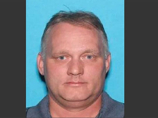A Department of Motor Vehicles ID picture of Robert Bowers, the suspect in the Pittsburgh synagogue attack.