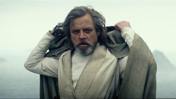 Luke Skywalker's beard is downright Kenobi-esque in