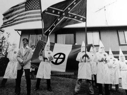 The Ku Klux Klan's last public appearance in Ocean