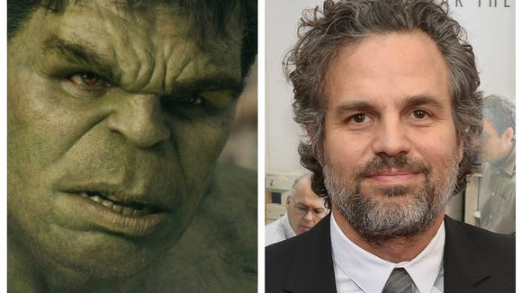 Image result for mark ruffalo as the hulk