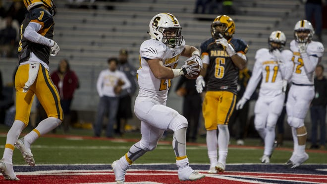 Scottsdale Saguaro's Stone Matthews will be back at tailback for his senior year, after he ran for more than 2,000 yards as a junior.