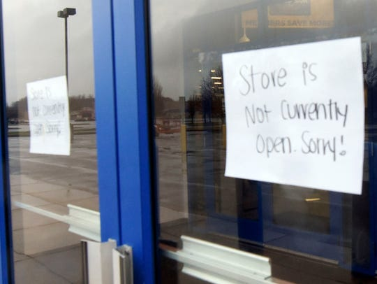Gander Outdoors is currently undergoing revovations.