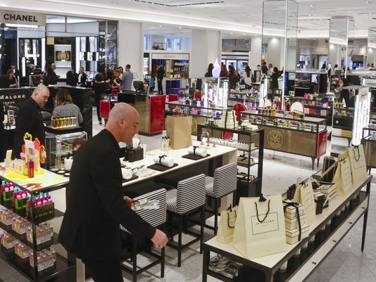 e23ac411199e Saks Fifth Avenue is now looking to offer an over-the-top experience, with  large shops devoted to brands like Chanel and Gucci. Stores like Neiman  Marcus ...