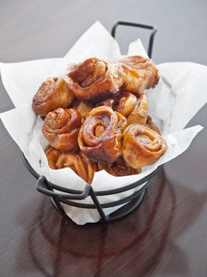 Sticky buns are a must have at El Chorro.