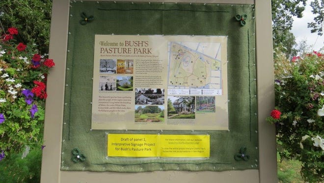 Friends of Bush Gardens seeks public feedback on the drafted information that will fill informational kiosks near the Bush's Pasture Park's entrances. Go to, friendsofbushgardens.org/projects.html to view the signage and provide feedback