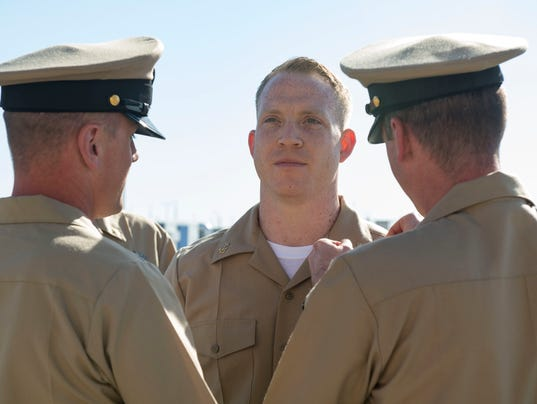 NSF Deveselu and AAMDS Romania Chief Petty Officer Pinning Ceremony 2017