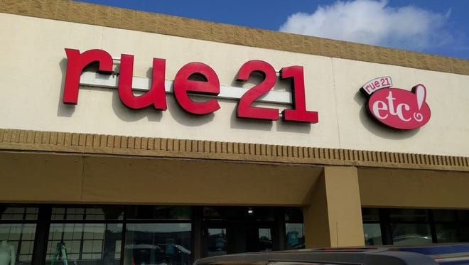 Rue21 at Five Points is on the closure list, according to the retailer's website.