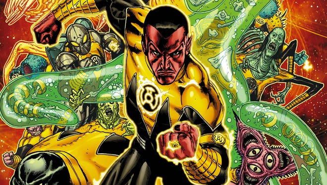 """The cosmic antagonist and his fear-fueled corps are back in """"Sinestro."""""""