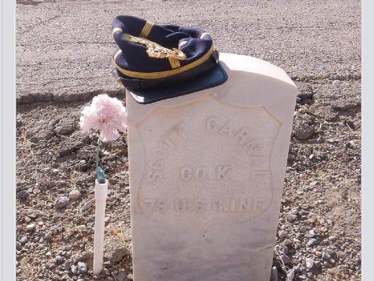 Carnal, Scott - headstone Dayton (John Riggs)