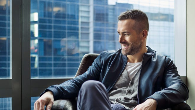 """Actor Ryan Reynolds poses for a portrait in promotion of his upcoming role in the film """"Woman in Gold"""" on Thursday, Feb. 26, 2015, in New York."""
