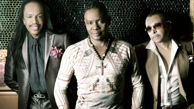 Earth, Wind & Fire will play the Peace Center March 25.