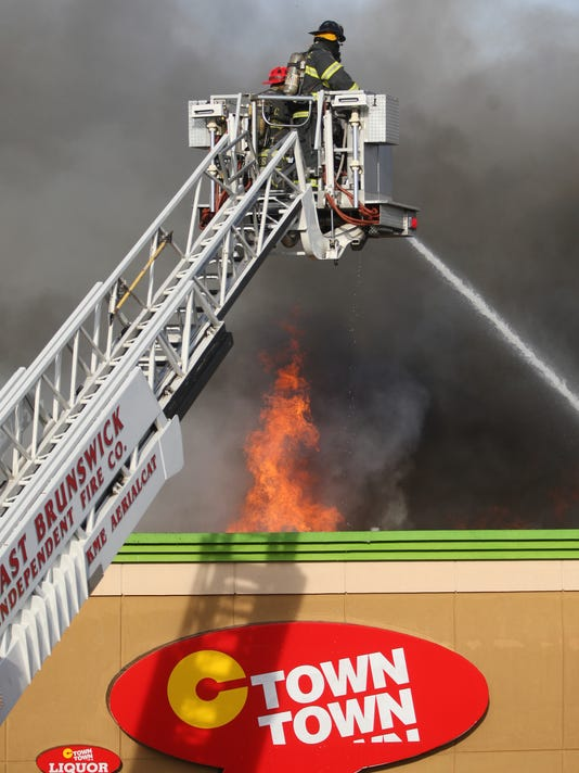 EST 0414 South Amboy supermarket fire