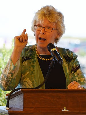 Nancy Targett, former interim president of the University of Delaware, served as dean of the College of Earth, Ocean, and Environment while her husband was a professor there.