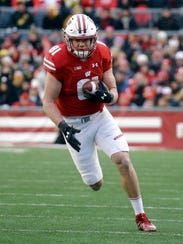 Troy Fumagalli made 93 catches for 1,127 yards, an average of 12.1 yards per catch, and six touchdowns, in his final two seasons at UW.