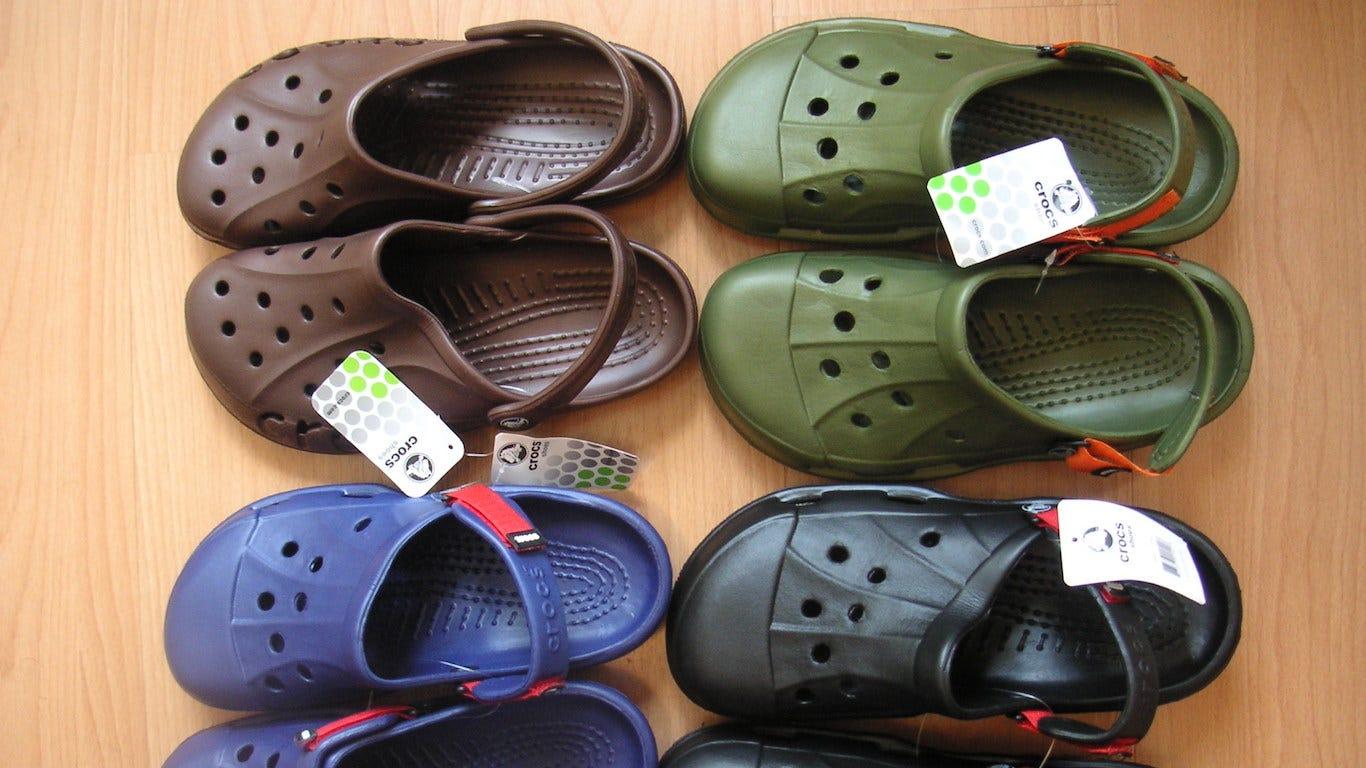 Crocs closing its last manufacturing