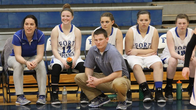 The Fort Defiance girls junior varsity basketball team went 19-2 this season. The team is made up of only eighth and ninth graders.