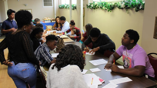More than 250 high school students filled out applications for various positions during Gateway Community Action Partnership's recent Summer Youth Job Fair.