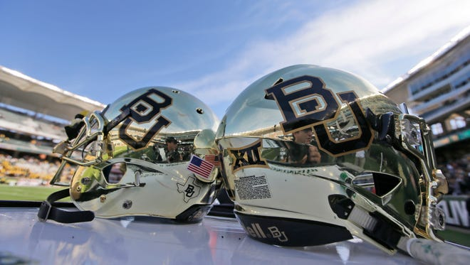 Baylor is dealing with another terrible action by one of its football players.