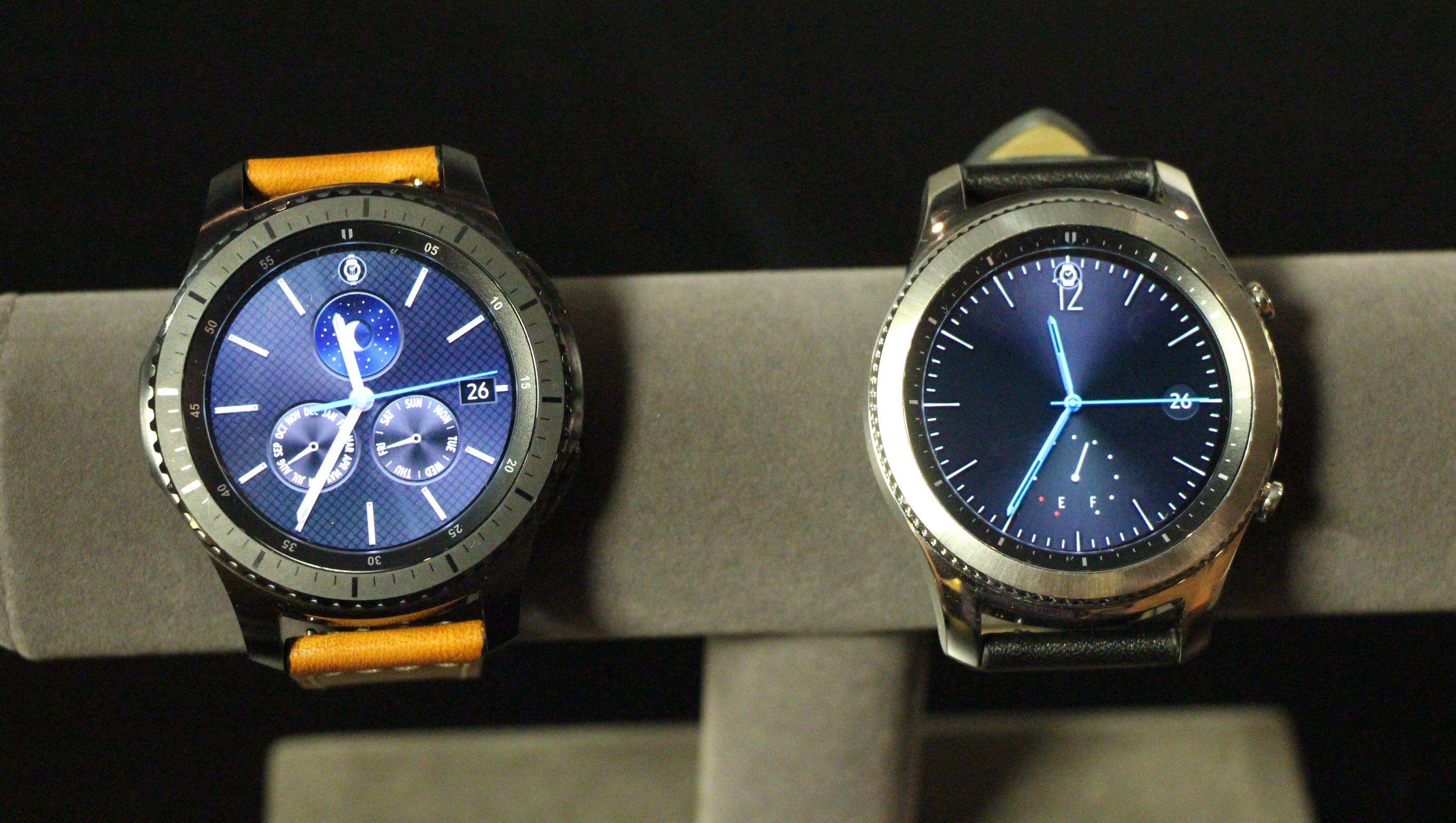 Samsung ticks forward with new Gear S3 smartwatch