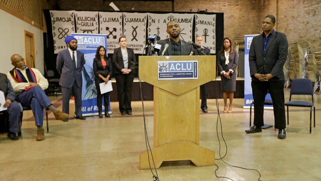 Greg Chambers, a plaintiff in the class-action lawsuit filed by the ACLU, talks about his interactions with Milwaukee police.