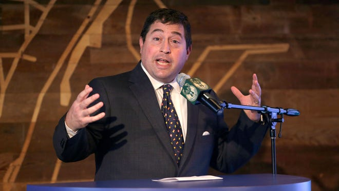 Bucks President Peter Feigin.