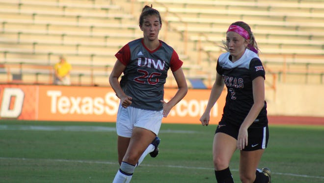 Isabella Beletic is making an immediate impact for UIW as a midfielder as a freshman.