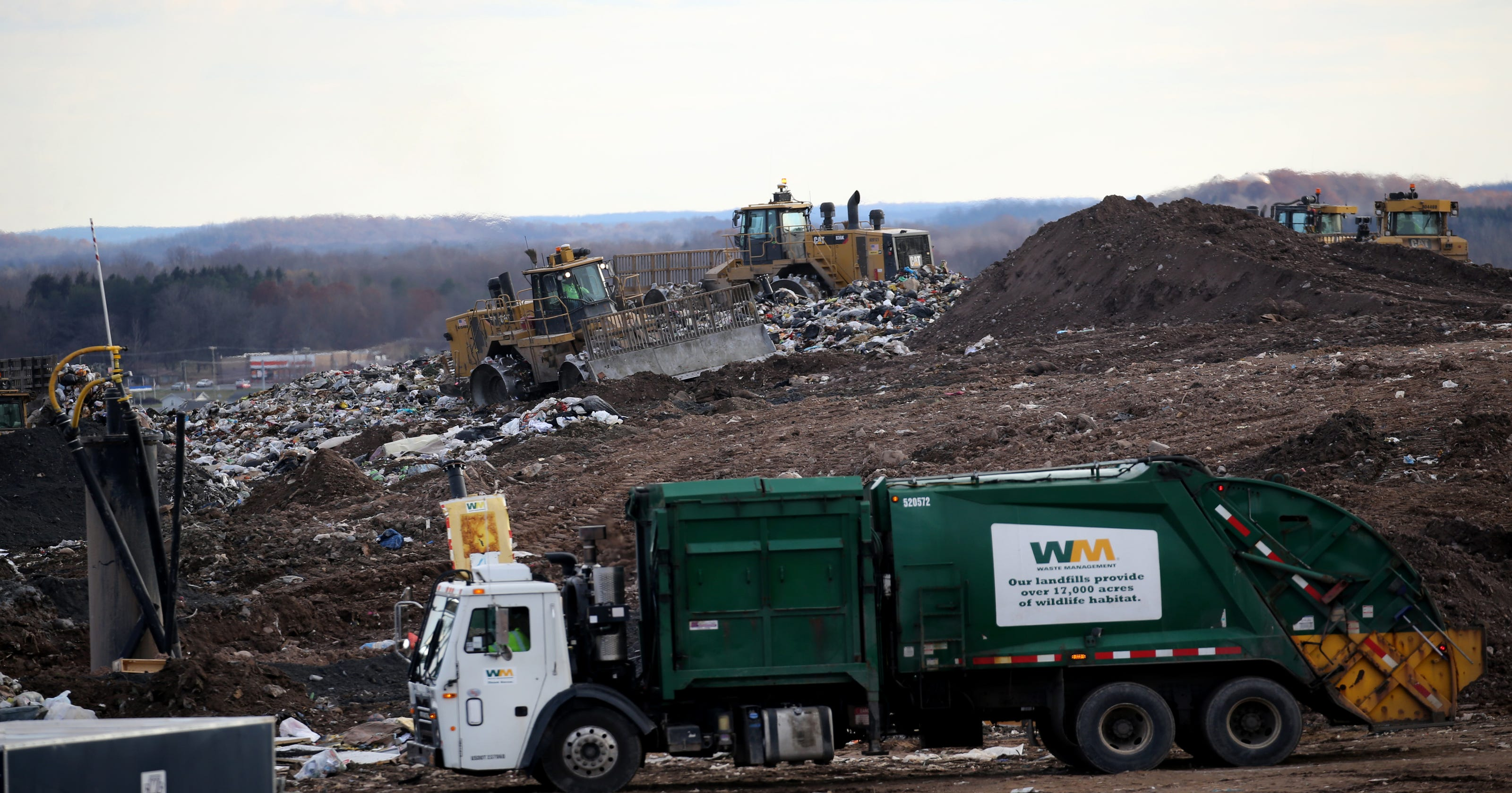 Fairport & Macedon residents suing Waste Management over landfill odors
