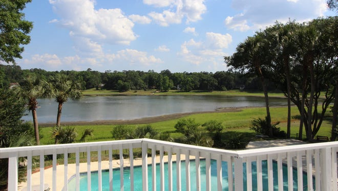 View from one of the homes at Killearn Estates.