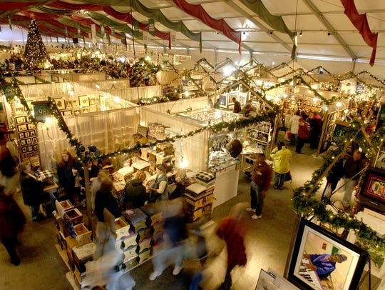 Christkindlmarkt features over 150 artisans from all