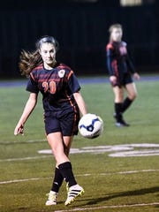 Abigail Osborn, a midfielder and defender on Northeastern High School's soccer team, died Monday from injuries she suffered in a hit-and-run crash over the weekend.