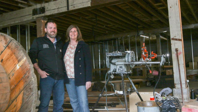 Dan and Patricia Fox are realizing their dream of small-batch cider-making with 1859 Cider Co., opening this spring in downtown Salem.