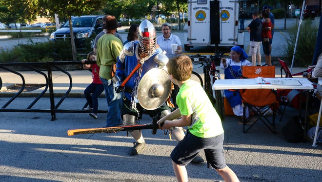 Crowds flocked downtown Lafayette to enjoy another mosey. Saturday, September 3rd
