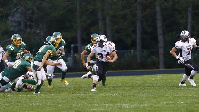 The Wildcats hosted the Tigers on Friday's Marawood Conference boys football game at Edgar High School.
